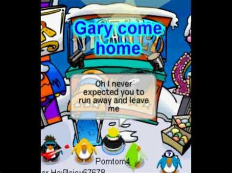 gary come home spongebob club penguin pomtom4
