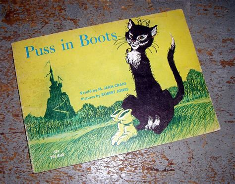 puss in boots book vintage book puss in boots child s book