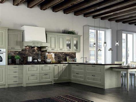 cucina classica in legno massello arredamento mobili