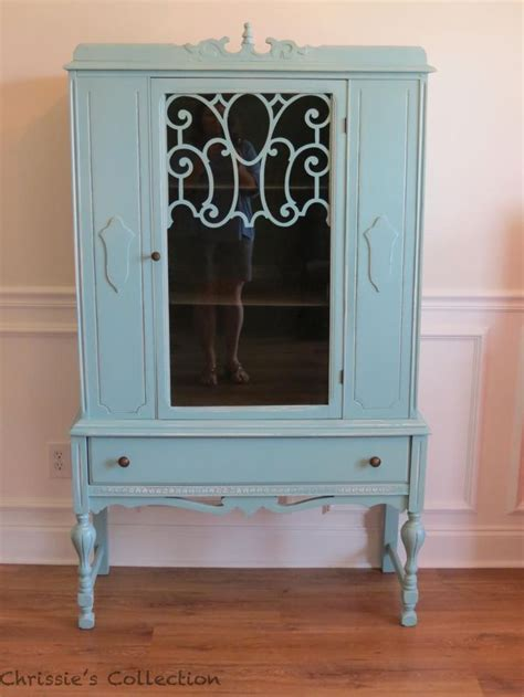 Painted China Cabinet Painted Furniture Pinterest Painted China Cabinet Ideas