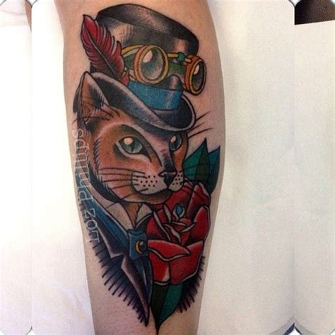 cat tattoo top hat 462 best top hat love images on pinterest top hats