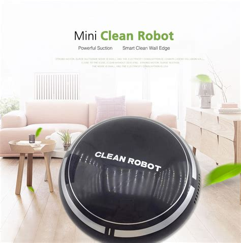 Charger Vivan Robot Rt K1 Mini Size Single Usb Charger mini smart robot vacuum cleaner powerful suction smart clean wall edge alex nld