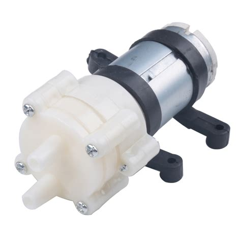 Pompa Air Mini Baterai pompa air mini aquarium ikan fish tank 12v 14150 white