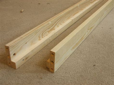 side rails for bed replacement solid bed side rails set of two siderails from strictly beds and bunks