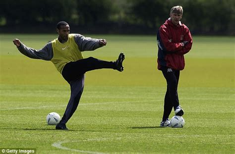 from signing henry to dein s departure the 20 defining moments of arsenal boss arsene wenger felt sorry for sol cbell