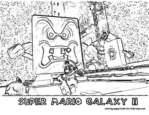 coloring pages super mario galaxy 2 printables nintendi wii super mario galaxy coloring pages