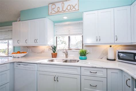 Anna Maria Island Beach Home Before After Cabinets