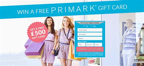 Primark Uk Gift Card - wap free 500 pound primark gift card soi uk affiliate programs offers