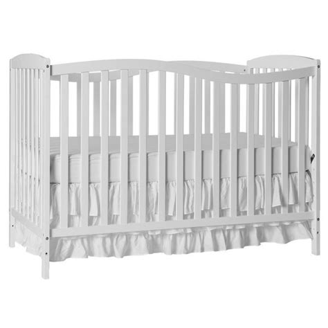 Chelsea Convertible Crib On Me Chelsea 5 In 1 Convertible Crib In White 680 W