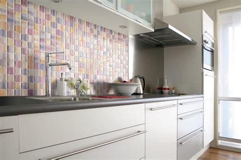keramik dinding dapur mozaik krem interior rumah