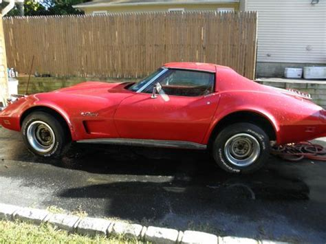 find used 1975 chevrolet corvette convertible loaded s matching a c 4 speed in buy used 1975 chevrolet corvette stingray coupe 2 door 5 7l in park new york united states