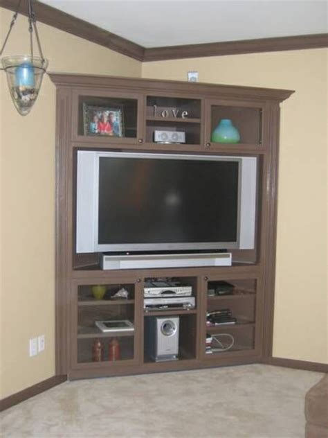 building a corner tv cabinet 25 best ideas about corner entertainment centers on
