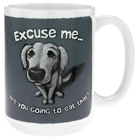 puppy mug are you going to eat that mug the animal rescue site