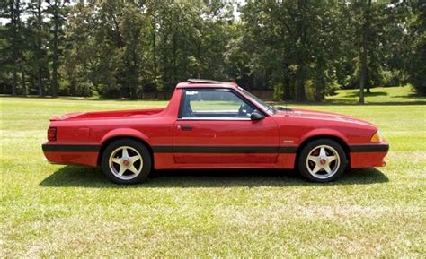 Ford Mustang Truck by Vermilion 1990 Ford Mustang Truck Mustangattitude