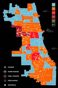 Chicago Gang Map chicago police issue bulletin on gangs high powered weapons