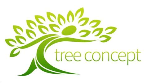 Green Tree Logos Vector Graphic 04 Welovesolo Green Tree Logos Vector Graphic 01 Vector Logo Free