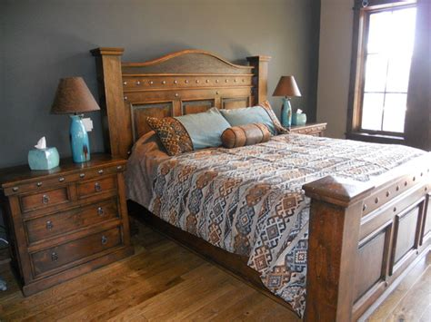 rustic king size bed durango king size bed rustic beds denver by
