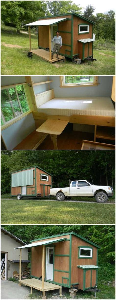 112 square feet off grid tiny house with folding porch roof 830 besten tiny living bilder auf pinterest architektur
