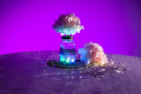 floral lights submersible rgb led tea lights led candle lights