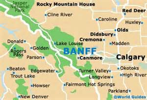 Map Of Banff Canada by Banff Maps And Orientation Banff Alberta Ab Canada