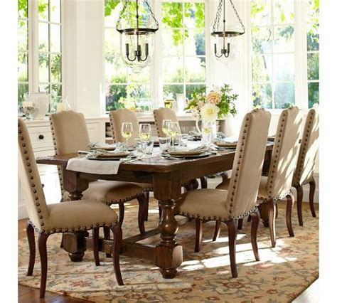 pottery barn dining table pottery barn pinterest 1000 images about dining on pinterest ethan allen