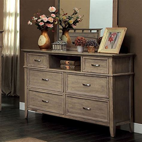 Oak Bedroom Dresser Where To Buy Loxley Transitional Style Oak Finish Bedroom Dresser Sergio C Flippoer