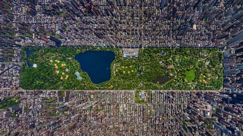 Top View by Top View Of Central Park New York Wallpapers And Images