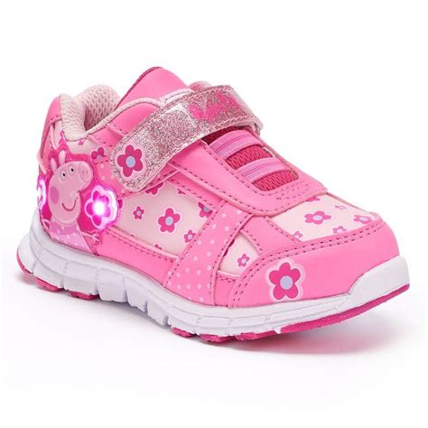 toddler shoes size 6 new peppa pig toddler sneakers shoes size 6 7 8