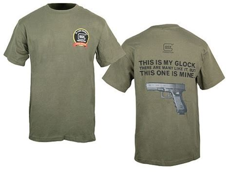 gunny approved glock gunny approved t shirt sleeve cotton olive