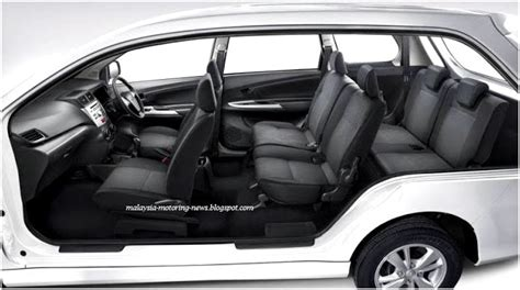 Toyota Avanza Seating Capacity Toyota Avanza Toyota Cars Catalog With Specifications