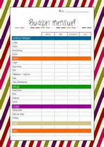 Calendrier Budget Mensuel Mars 2014 Le D 233 Vidoir