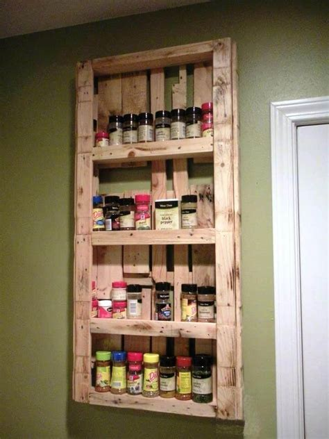 Diy Pallet Wood Spice Rack Pallets Designs 20 Recycled Pallet Ideas Diy Furniture Projects 101 Pallets