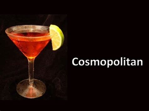 cosmopolitan recipe cosmopolitan cocktail drink recipe youtube