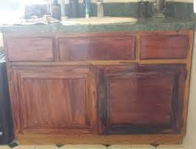 Kitchen Cabinets That Look Like Furniture Helppp Stained Furniture Project Gone Wrong