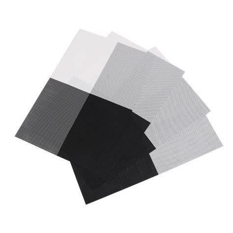 Aliexpress Buy Woven Vinyl Placemat by Aliexpress Buy 4pcs Set Placemat Crossweave Woven