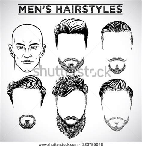man hair style stock images, royalty free images & vectors