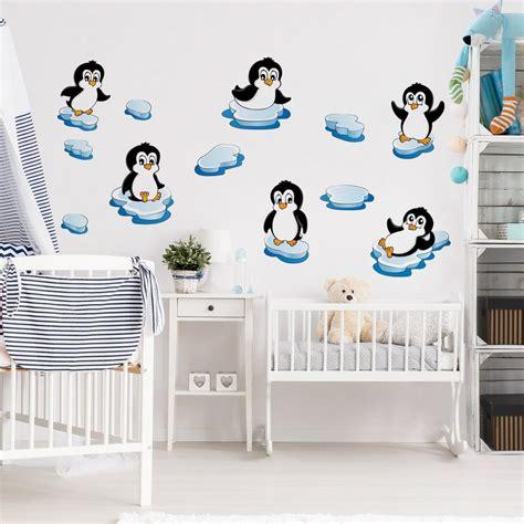 wandtattoo kinderzimmer otto bilderwelten wandtattoo kinderzimmer 187 pinguin kinderzimmer
