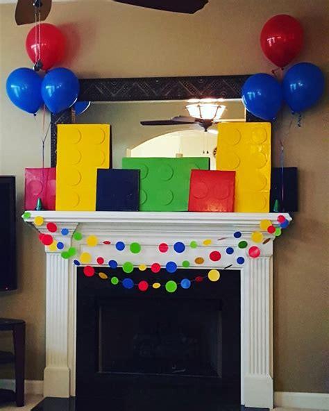 Karas Party  Ee  Ideas Ee   Bright Lorful Lego  Ee  Birthday Ee   Party