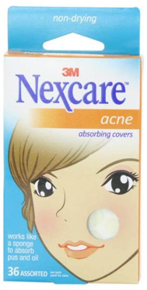 Acne Cover Nexcare Nexcare Acne Absorbing Cover Two Sizes 36 Count All