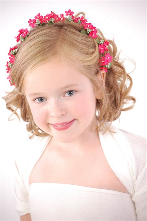 Flower Girl Hairstyles Curly | curly hairstyles for flower girls