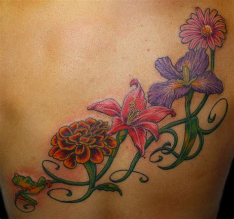 flowers with vines tattoo designs vine tattoos tattoos