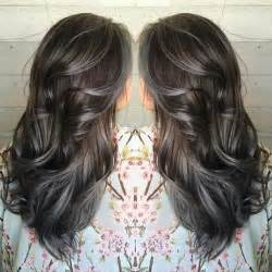 pictures of grey hair with highlights amazing grey silver highlights