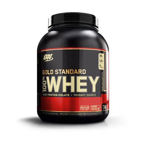 Optimum Nutrition Whey Gold Standard A General Whey Gold Standard Rich Chocolate 5