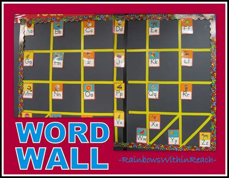 bulletin board template word www rainbowswithinreach