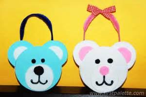 Halloween Toddler Craft - teddy bear tote craft kids crafts firstpalette com