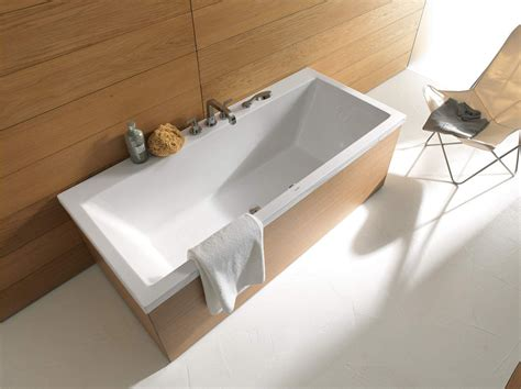 duravit vasche image 3 of duravit vero ended rectangle bathtub