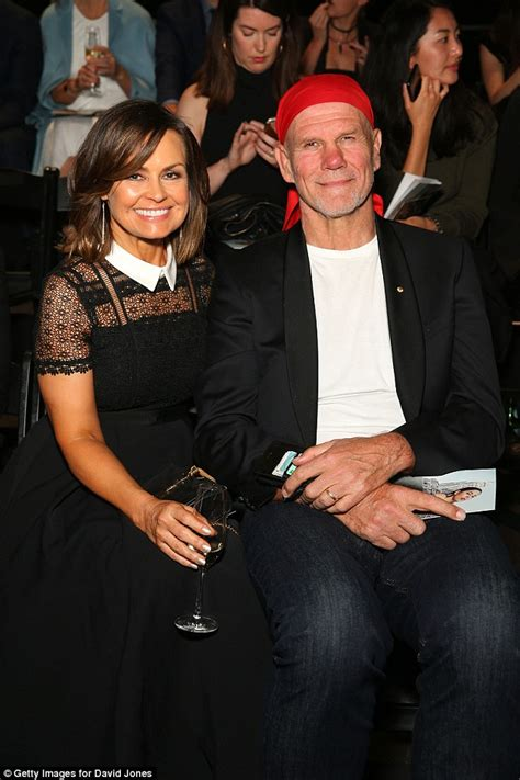 what is wrong with lisa rings husband lisa wilkinson pulls some very bizarre facial expressions
