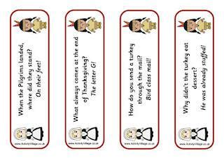 printable poetry bookmarks thanksgiving printables