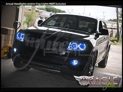 jeep grand cherokee lights oracle 11 13 jeep grand cherokee ccfl halo rings