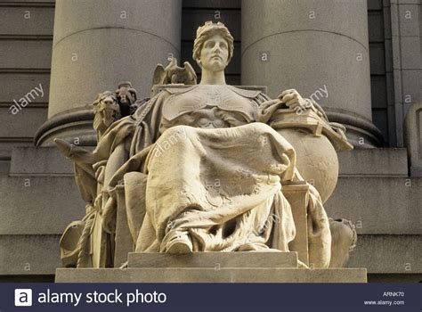 us customs house nyc usa new york statue of europe us custom house at bowling green new stock photo